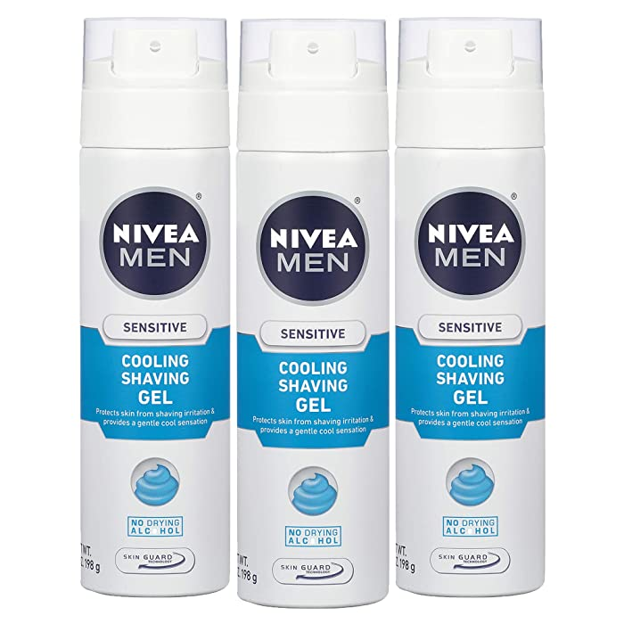 The Best Nivea Men Sensitive Cooling Shaving Gel