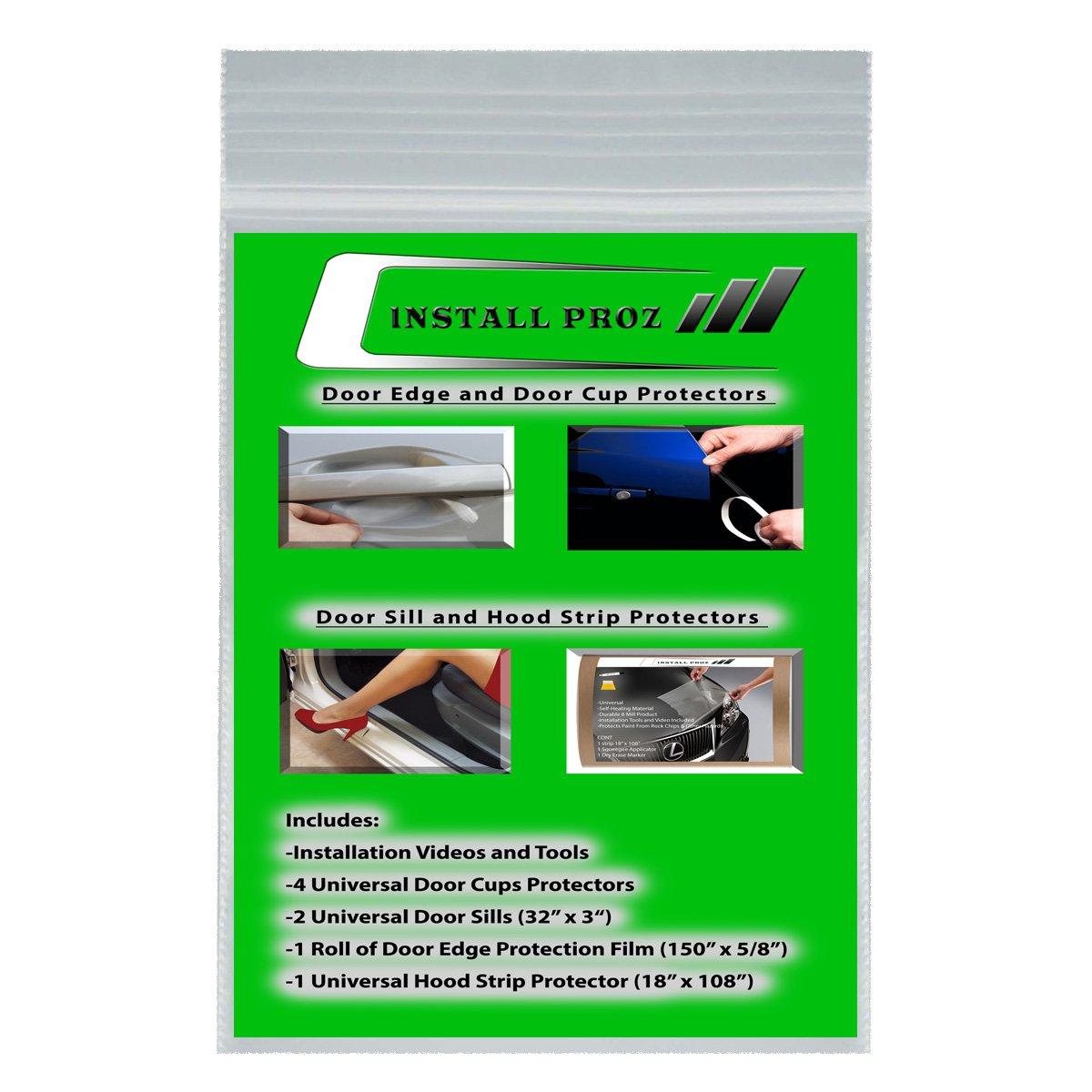 Install Proz Self-Healing Clear Paint Protection Film (Bundle(Hood, Door Edge, Door Cup, Door Sill)) by Install Proz (Image #1)