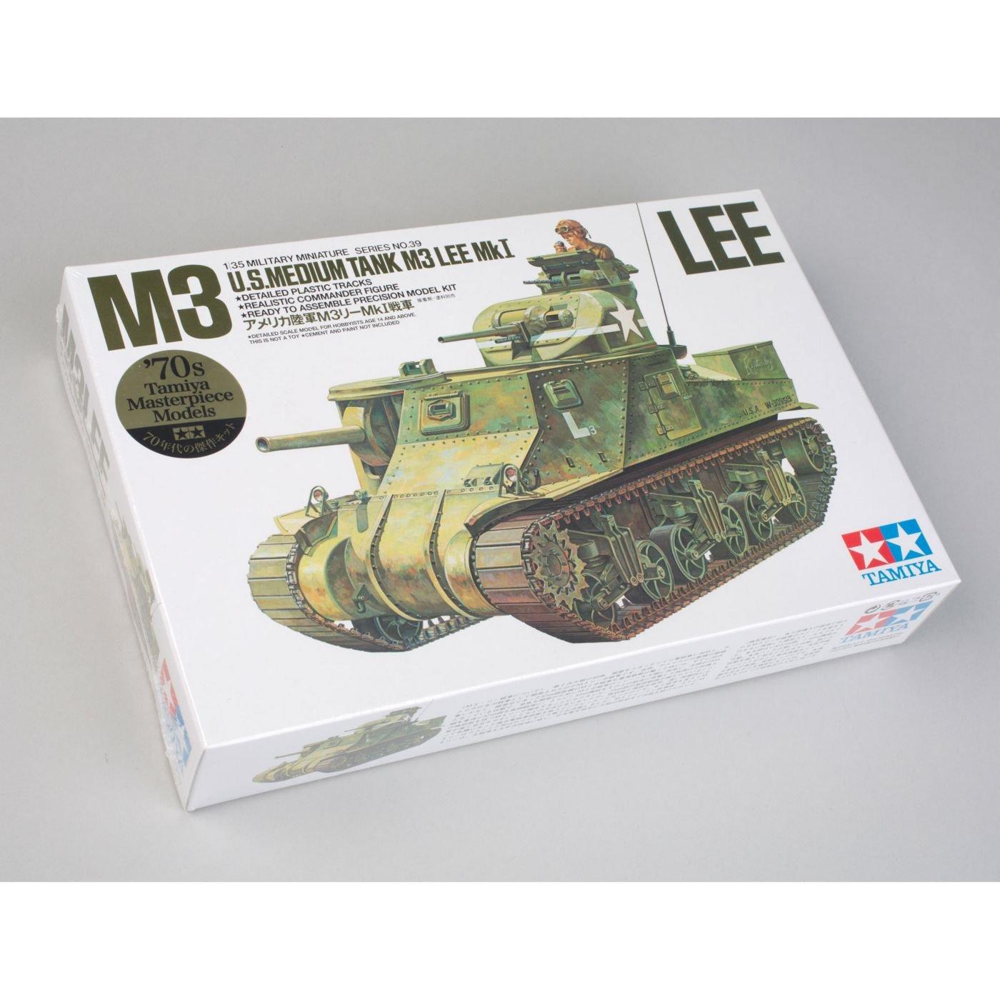 Tamiya America, Inc 1/35 US M3 Tank Lee, TAM35039