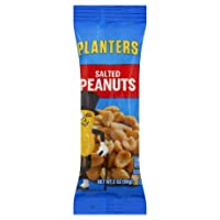 Pack of 12 Planters Single Serve Salted Peanuts1.75 oz.