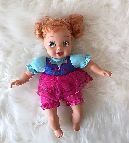 Amazon.com: Disney Frozen Anna Mi primera princesa Baby Doll ...
