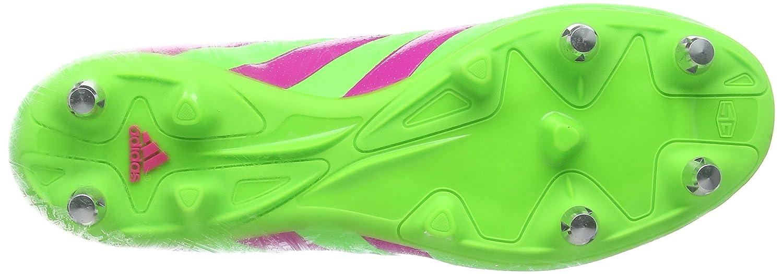 adidas Ace 16.3 SG, Botas de fútbol para Hombre, Verde/Rosa/Negro (Versol/Rosimp/Negbas), 39 1/3 EU: Amazon.es: Zapatos y complementos