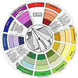 Gazechimp Cercle Chromatique Des Couleurs pour Guide Mélange des Couleurs - 23.5 cm