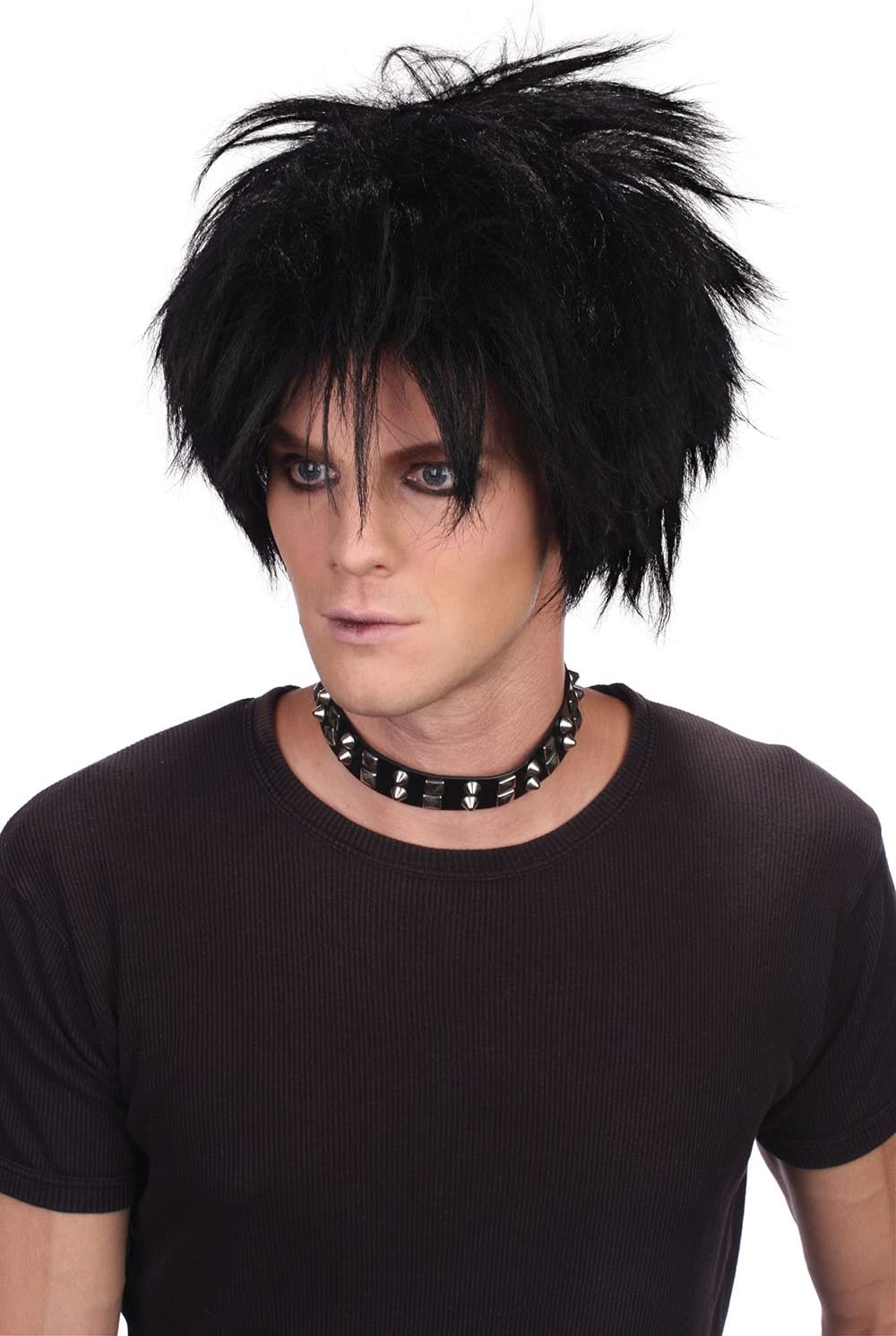 New 80/'s Female Multi Coloured spikey Wig