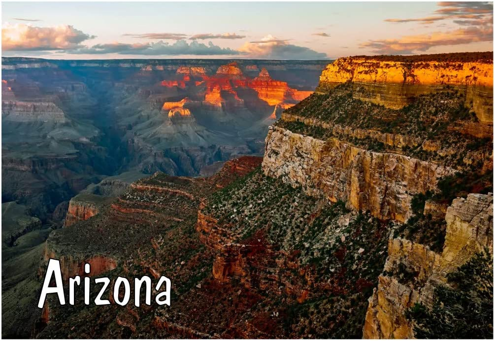 Details about  /Greetings from the Grand Canyon FRIDGE MAGNET travel souvenir arizona