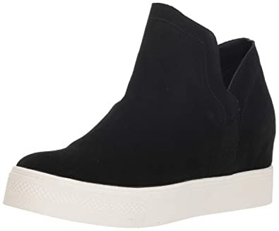 1ea519bc3e18 Steve Madden Women s Wrangle Black Suede Athletic ...