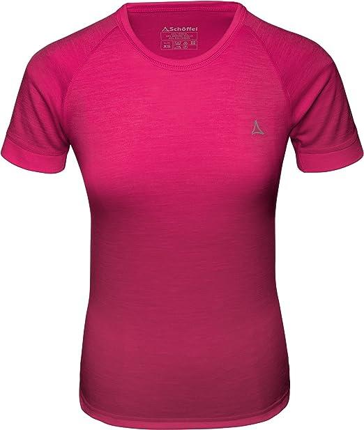 Schöffel Sport Shirt W Camiseta de Lana Merina: Amazon.es: Ropa y accesorios