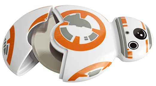 Compra Star Wars Cortador de Pizza BB-8, Color Blanco/Naranja, 8 x 7 x 9 cm en Amazon.es