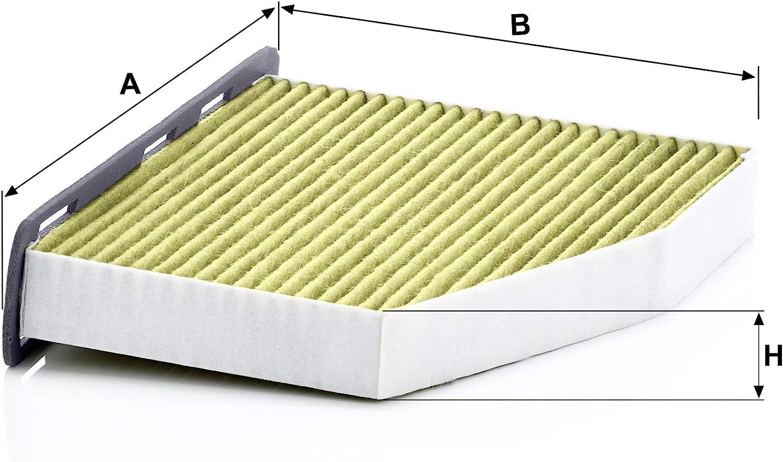 Original MANN-FILTER Interior Filter FP 2939//1 FreciousPlus biofunctional pollen filter for PKW
