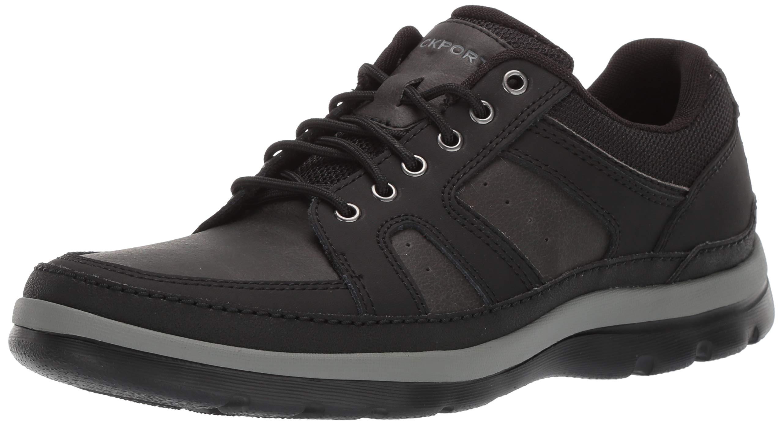 Rockport Men's Get Your Kicks Mudguard Blucher Oxford, Black 2, 8 W US