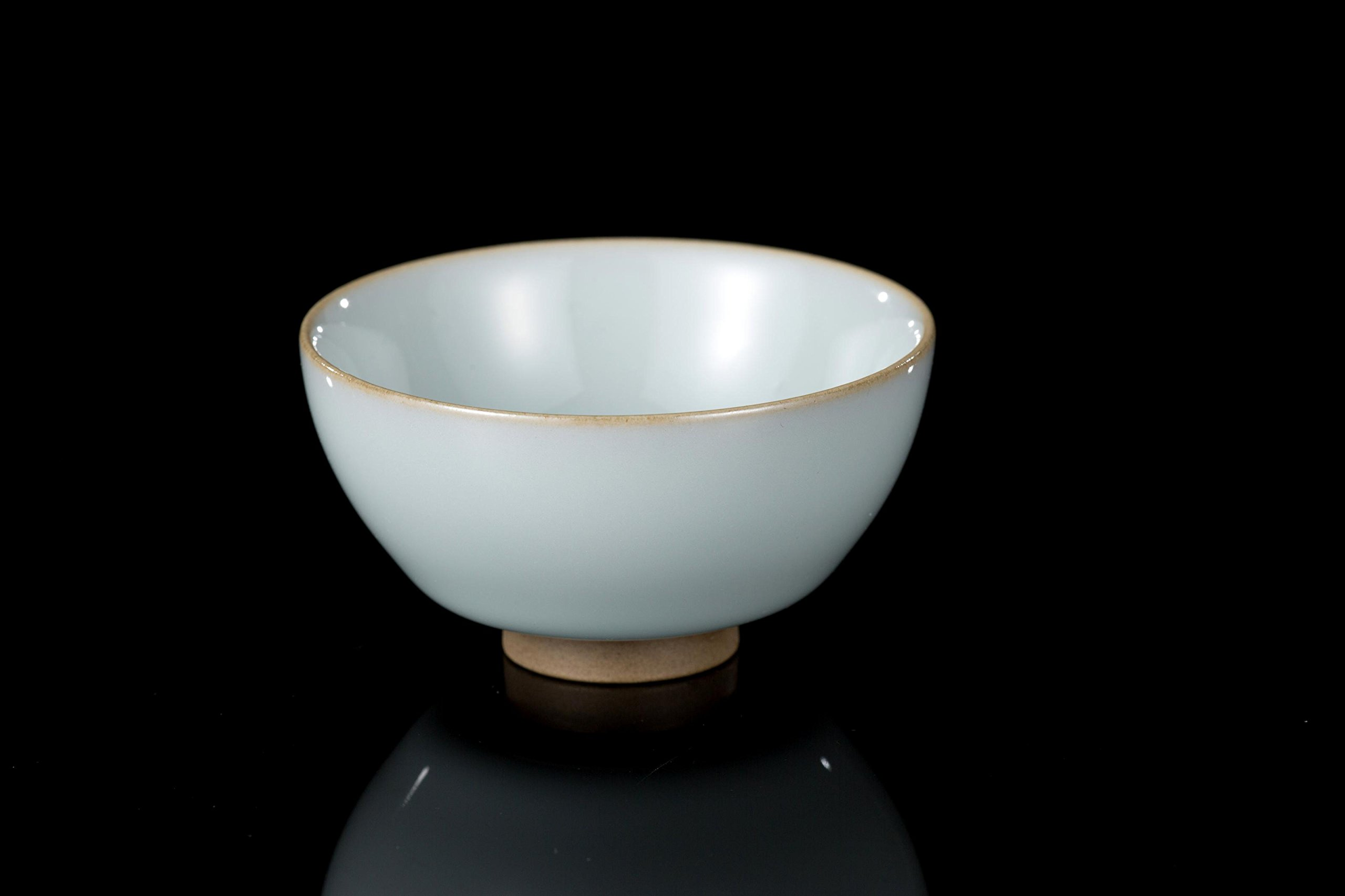 Guan Ci Wood Fired Chinese Porcelain Tea Cup (Model 2)
