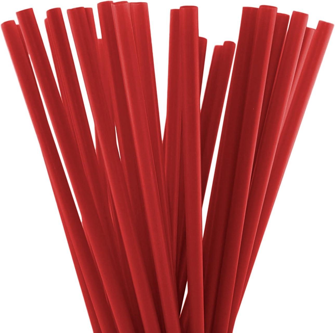 10 Inch Drinking Straws Clear 250 Straws 10 Inch x 0.28 Inch Clear 250