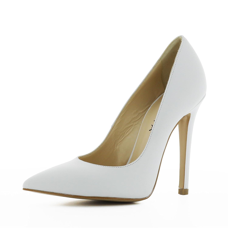 Evita Shoes Lisa - Zapatos de vestir de Piel para mujer 34 EU|Wei
