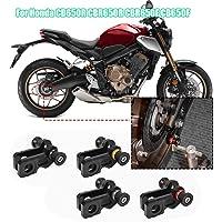 colorful Worldmotop 2pcs 8MM M8 Motorcycle Swingarm Spools-CNC Stand Screws Sliders Universal for BMW S1000R S1000RR 2014 2015 2016 2017 2018,Swing Arm Slider