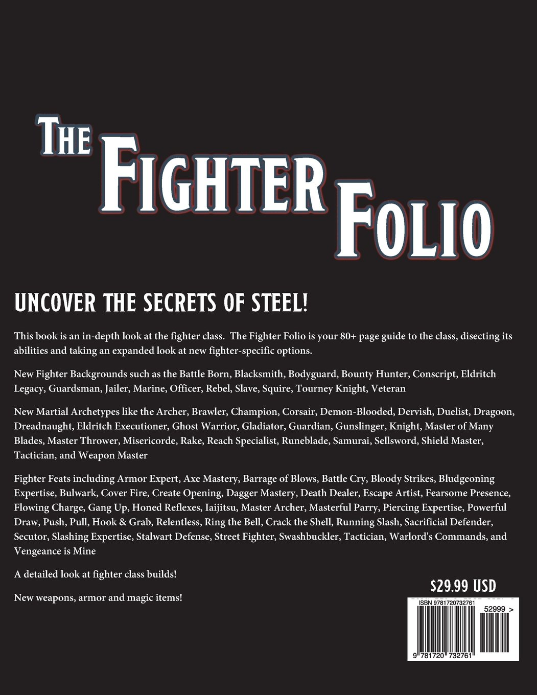 The Fighter Folio for Fifth Edition (5E): Brian Berg, Mark A