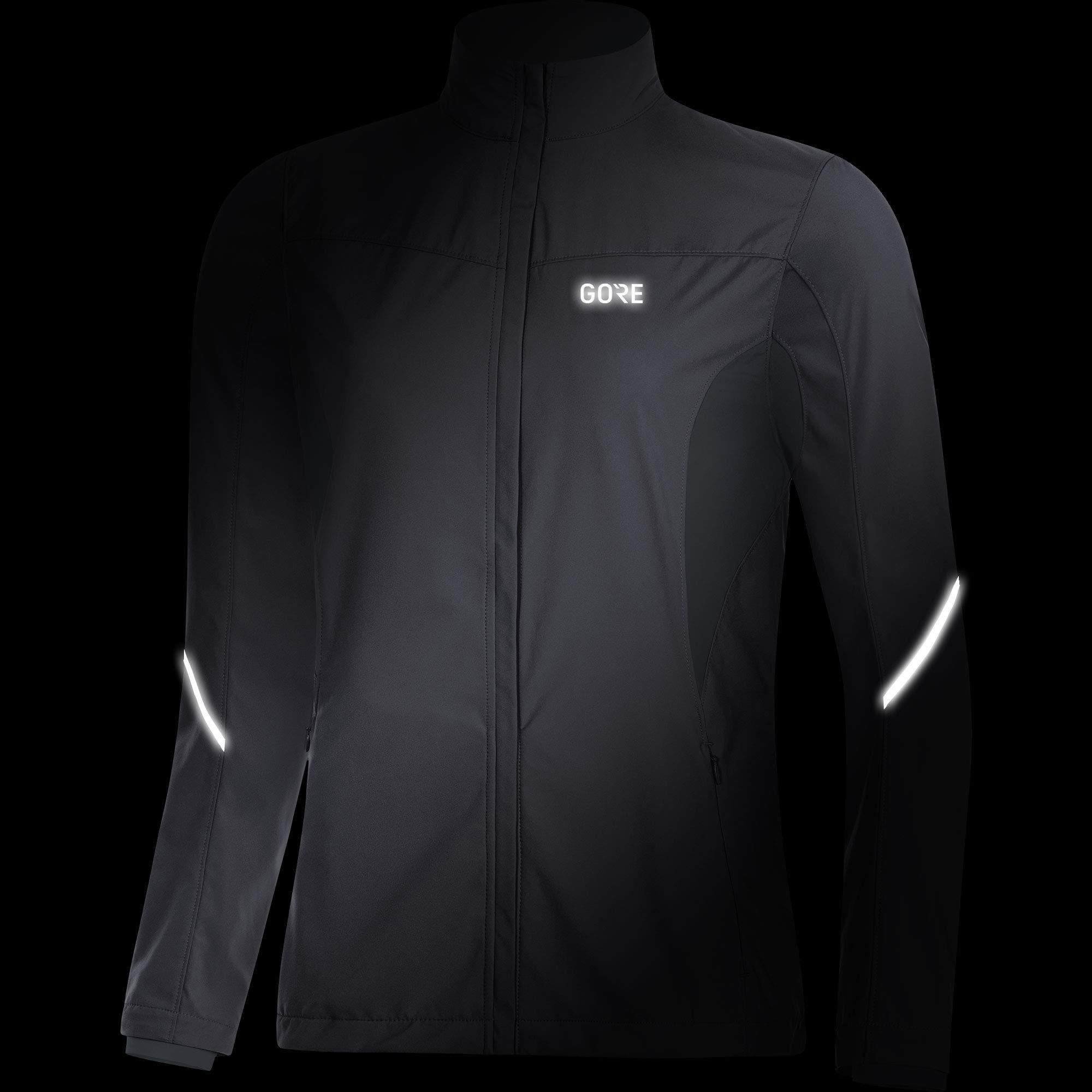 Gore Women's R3 Wmn Partial Gws Jacket,  terra grey/black,  M by GORE WEAR (Image #3)