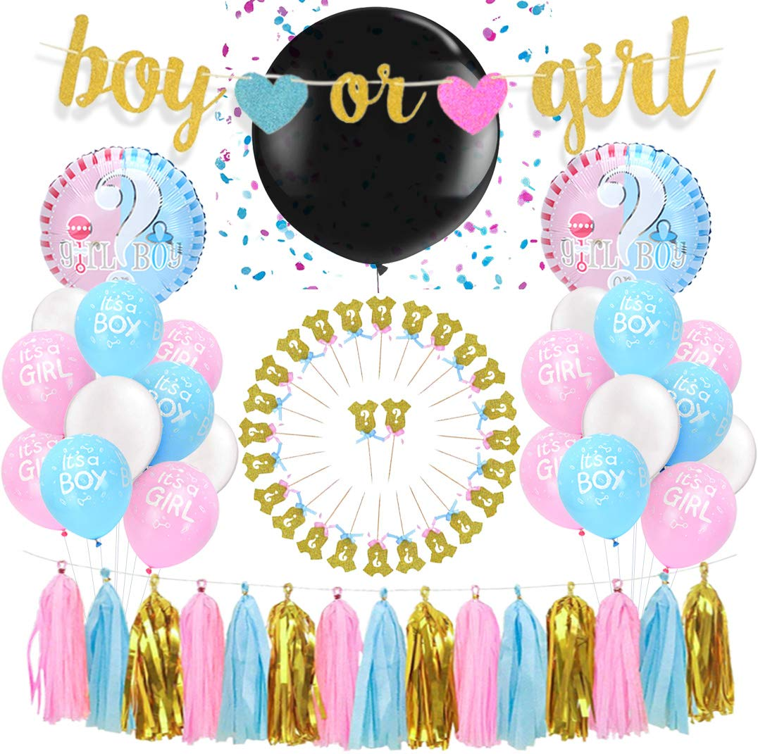 Amazon.es: Kreatwow: Gender Reveal Party