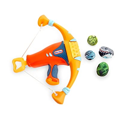 Little Tikes Mighty Blasters Mighty Bow Toy Blaster with 4 Soft Power Pods, Multicolor, Model:: Toys & Games