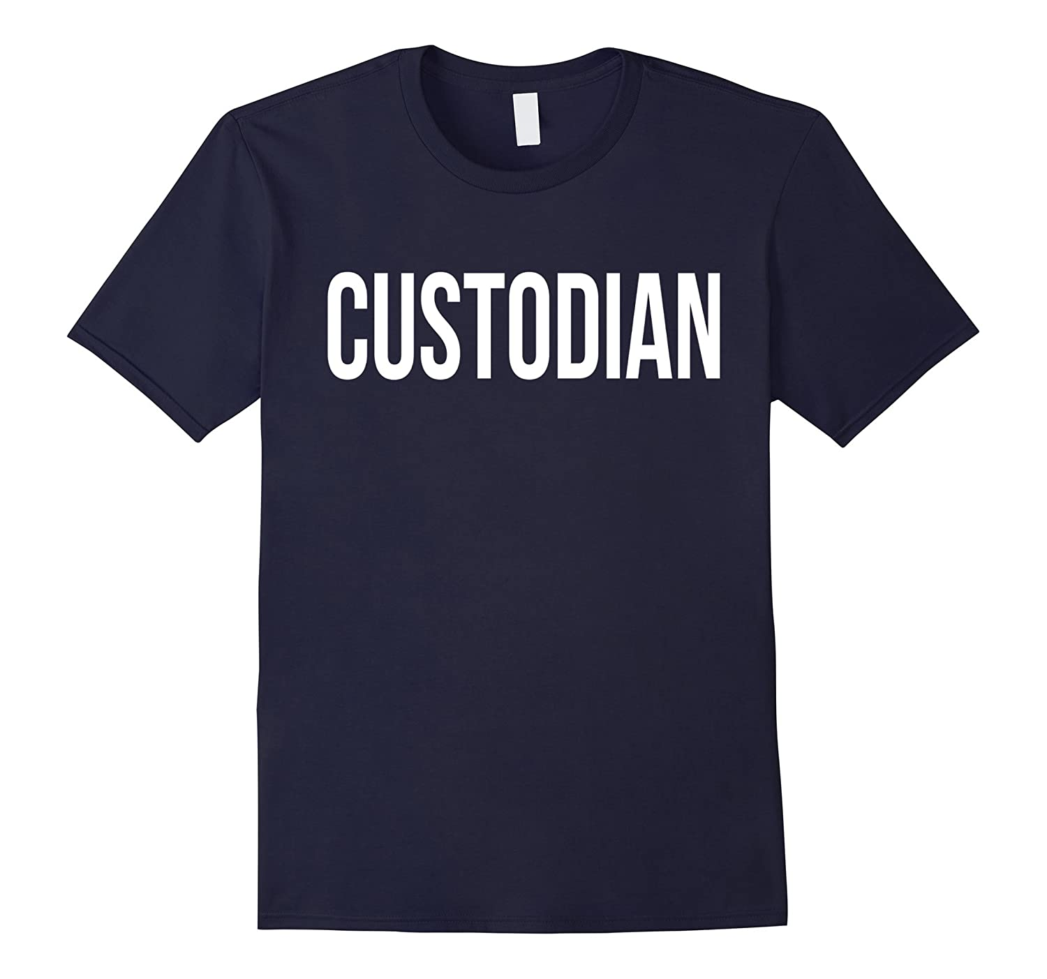Awesome Custodian T-shirt Best Custodian Costume Ever-PL