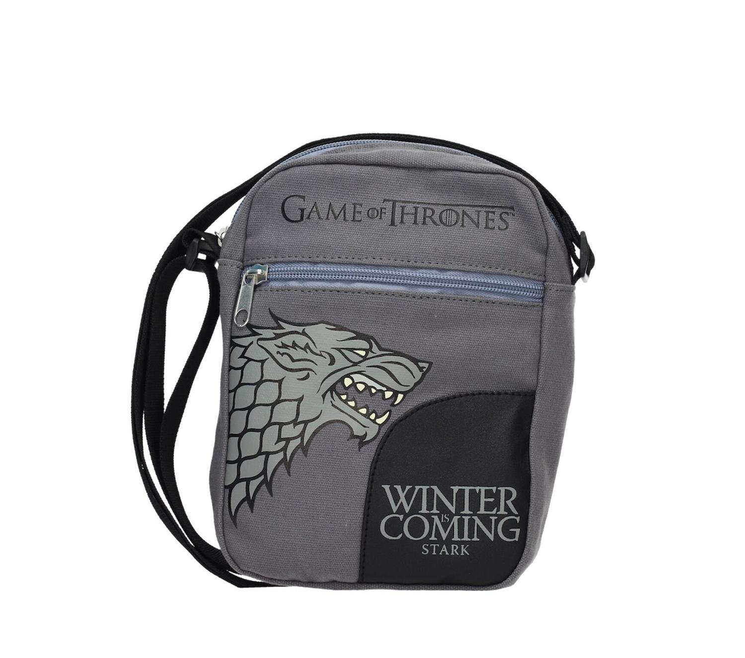 Game of Thrones Sac à bandoulière Mini Stark Winter is Coming
