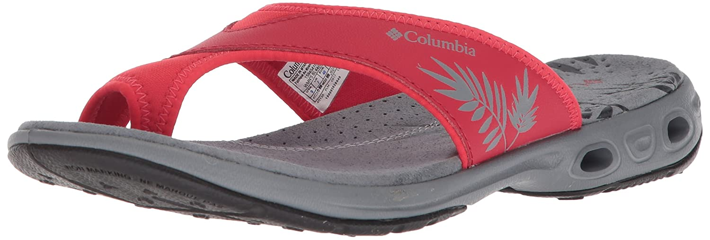 Columbia Women's Kea Vent Sandal B073RMZPKG 12 B(M) US|Candy Apple, Earl Grey