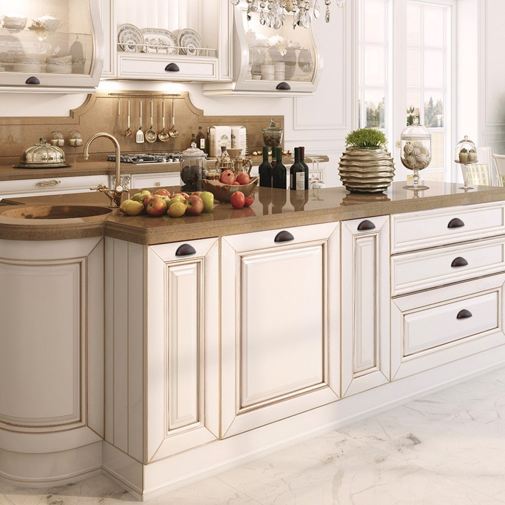 solid or hardware modern pulls rubbed bronze cabinet inch euro orb center packs available oil bar steel of screw in