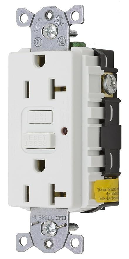 Amazon.com: Bryant Electric GF20WLA 20-Amp 125-volt Commercial ...