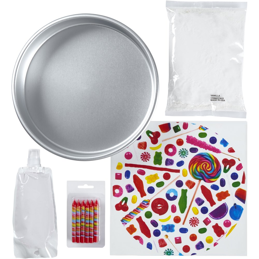 Amazon.com: Wilton 2104-6812 Dylans Candy Bar Cake Decorating Kit Assorted: Kitchen & Dining