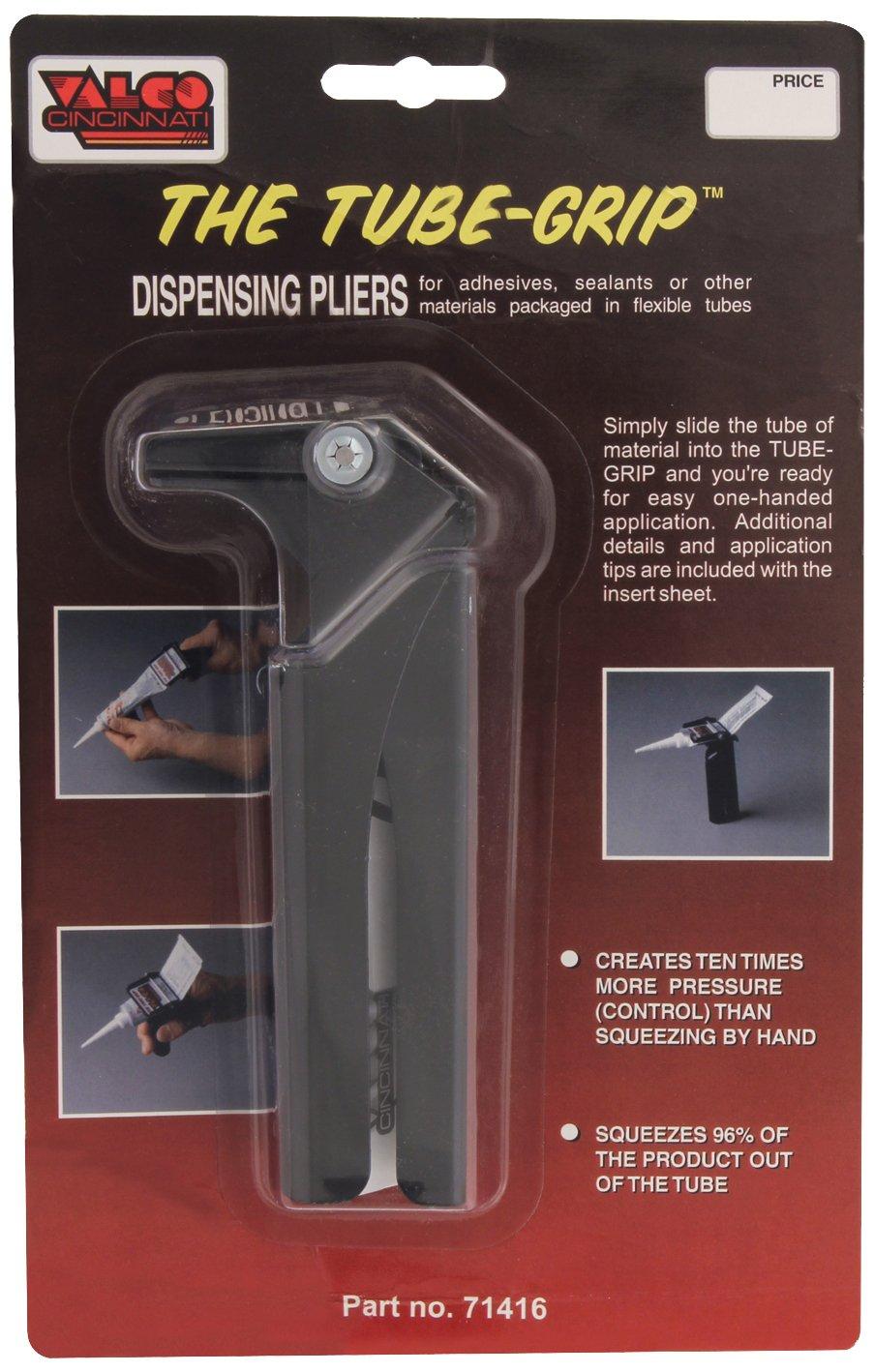 "Valco Cincinnati 71416 Tube-Grip 2"" Dispensing Plier with Sealant Dispensing Tool"