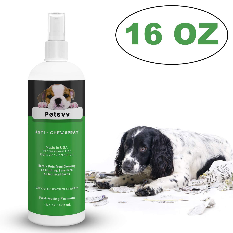 16Oz Anti Chew Spray Deterrent für Dogs, nicht Chew Pet Training Corrector zu Stopp Biting | Non-Toxic | Alcohol kostenlos | gemacht bei Usa