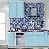 Bluelover cucina 45x500cm mosaico impermeabile wall for Decorazioni autoadesive per mobili