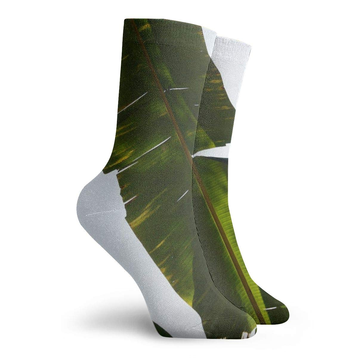 White Leaf Cotton Sports Socks?2 Packs