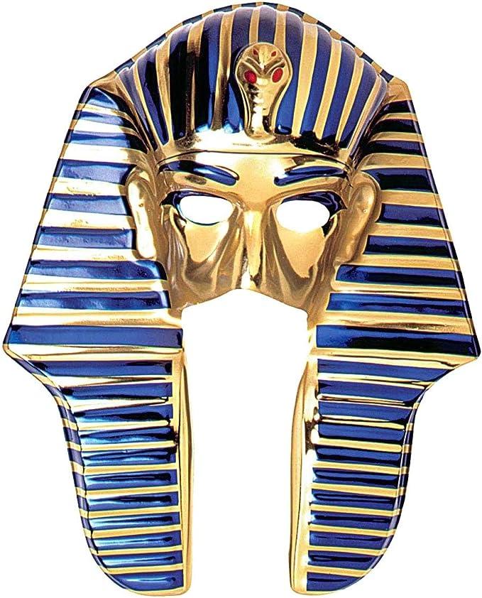 Careta de Tutankamon de plástico: Amazon.es: Ropa y accesorios