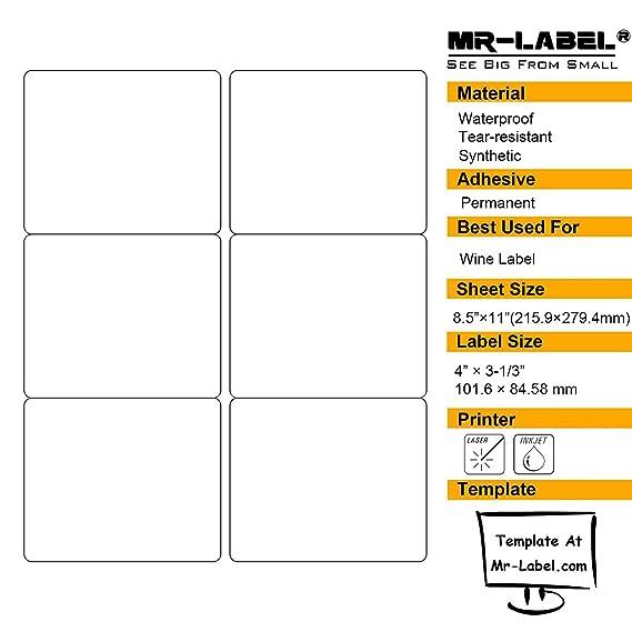 Fine Wine Label Size Template Motif Best Resume Examples By - Wine label size template
