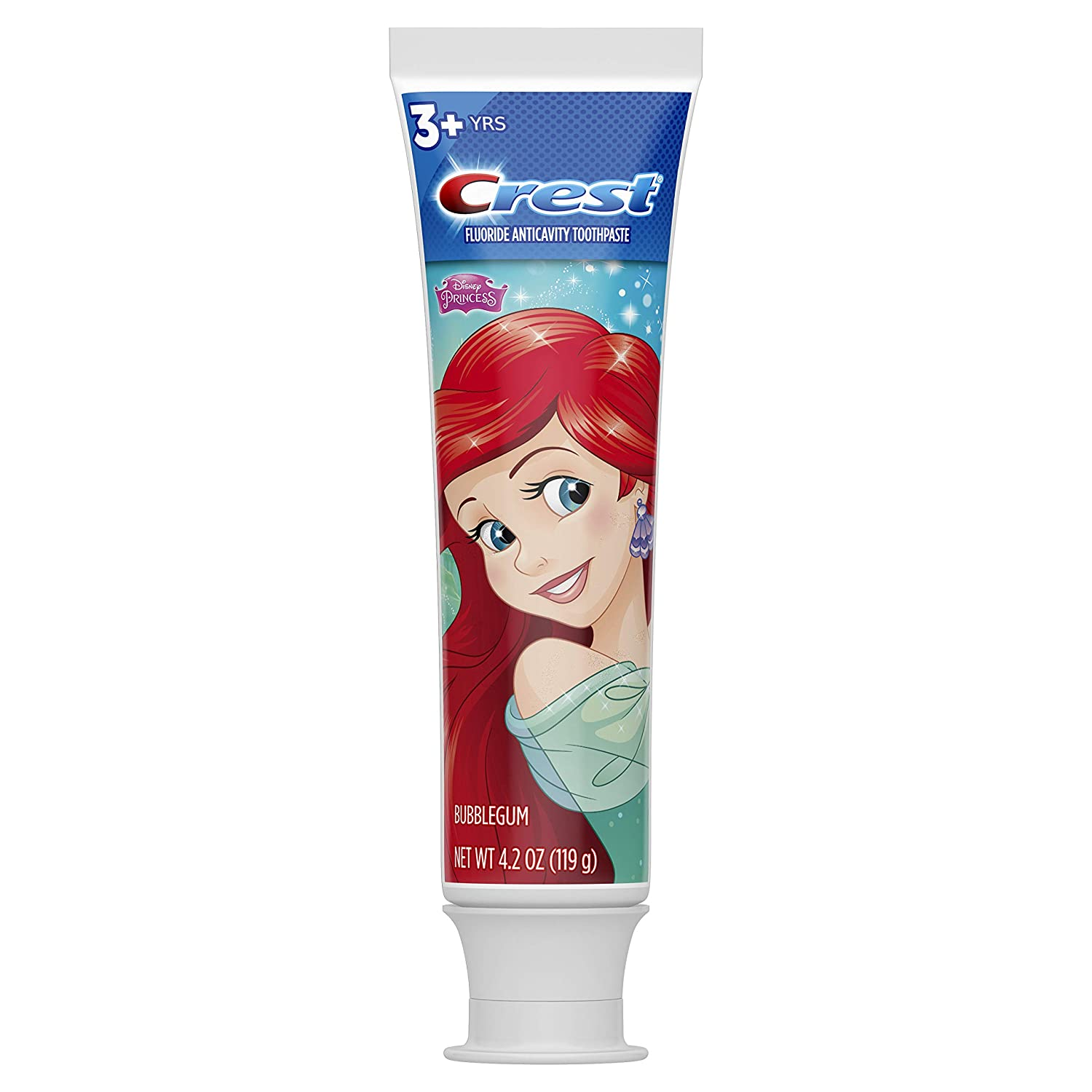 Crest Pro-health Stages Disney Princess Kid's Toothpaste 4.2 Oz (Pack of 2)