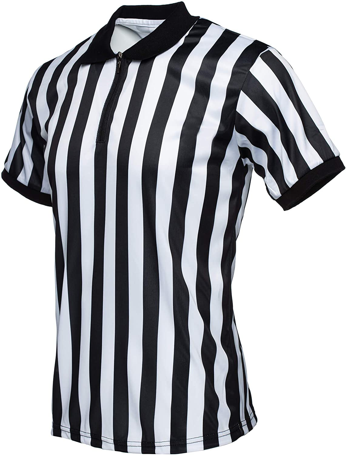 Murray Sporting Goods Collared Referee Shirt | Men's Official Short Sleeve Pro-Style Collar Officiating Referee Shirt for Football, Basketball, Wrestling & Volleyball: Sports & Outdoors