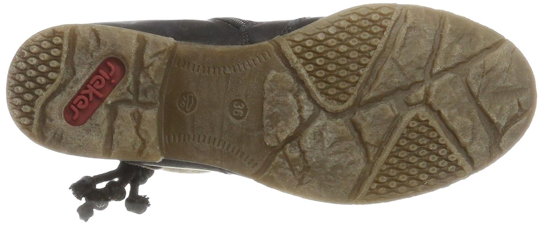 Rieker Antistress Women's Fee 93 Ankle Boot B00UAJAXJ4 39 M EU / 8 B(M) US Schwarz