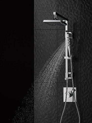 DELTA FAUCET 58410-RB Emerge 18 Angular Shower Column, Venetian Bronze