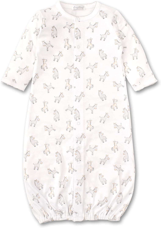 Kissy Kissy Baby-Girls Infant Zebra ZZZs Print Convertible Gown