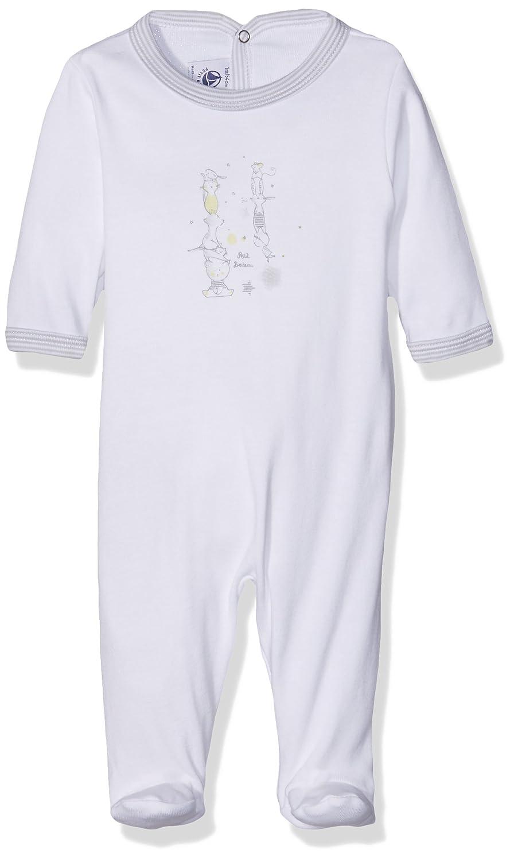 Petit Bateau, Pelele para Dormir para Bebés Petit Bateau 21831 Blanco (Ecume) 50