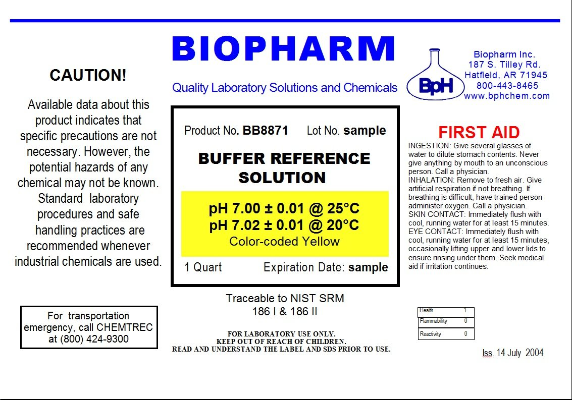 Biopharm pH Calibration Solution 2-Pack Quart (1 L) Bottles pH 4 and pH 7 Buffer NIST Traceable Reference Standards for All pH Meters by Biopharm (Image #3)