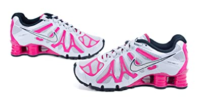 Nike Women s Shox Turbo+ 13 Running Shoe WOLF GREY FIREBERRY BLACK METALLIC  SILVER 3e0e988cbb