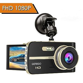 VoitureGeargo Double Caméra Dash 1080p De Cam Hd Full thrBQdsxC