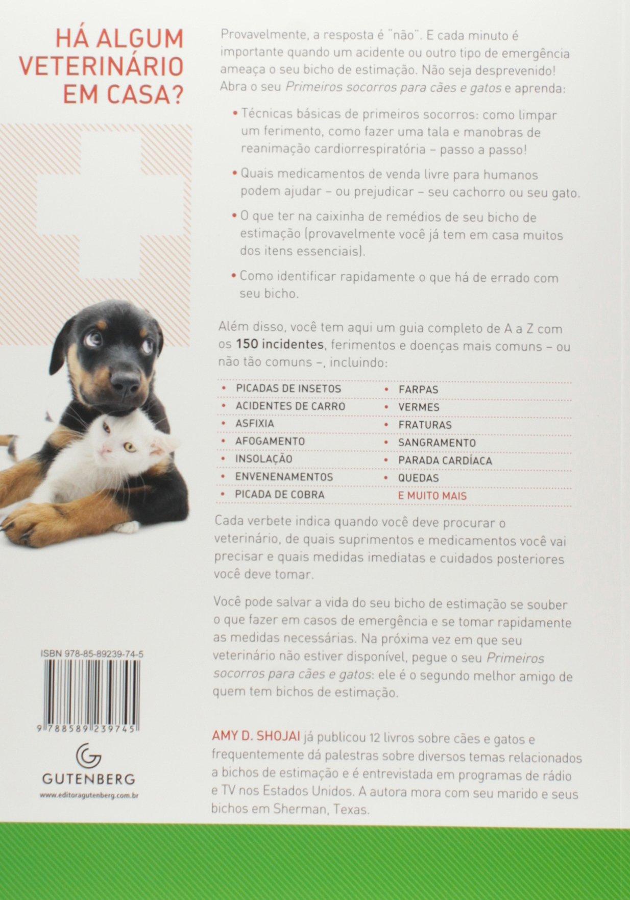 Primeiros Socorros Para Cães e Gatos Em Portuguese do Brasil: Amazon.es: Amy Shojai: Libros