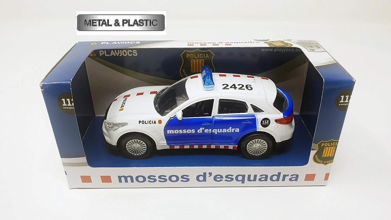 PLAYJOCS Coche Mossos GT-0222: Amazon.es: Juguetes y juegos