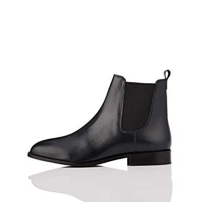 Brand - find. Women's Leather Andy Classic Chelsea Boots: Shoes