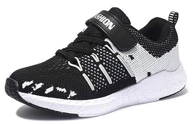 a735b32a13070 SKOEX Kid's Lightweight Sneakers Boys Girls Casual Sport Running Walking  Shoes (Toddler/Little Kid)