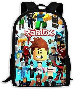 Reneealsip Backpack School Bookbag Travel Rucksack Durable Daypack 17in