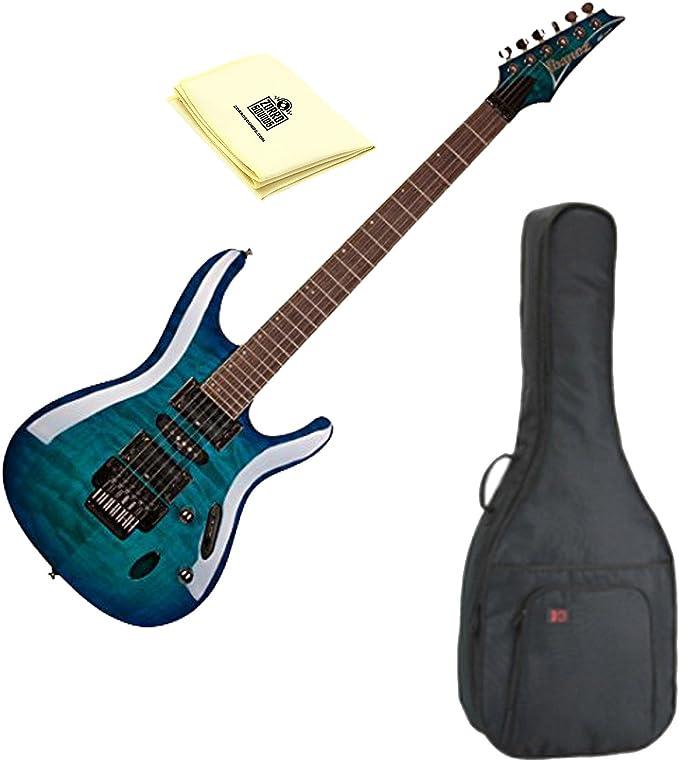 Ibanez s670qm S Series Guitarra eléctrica de cuerpo sólido color ...