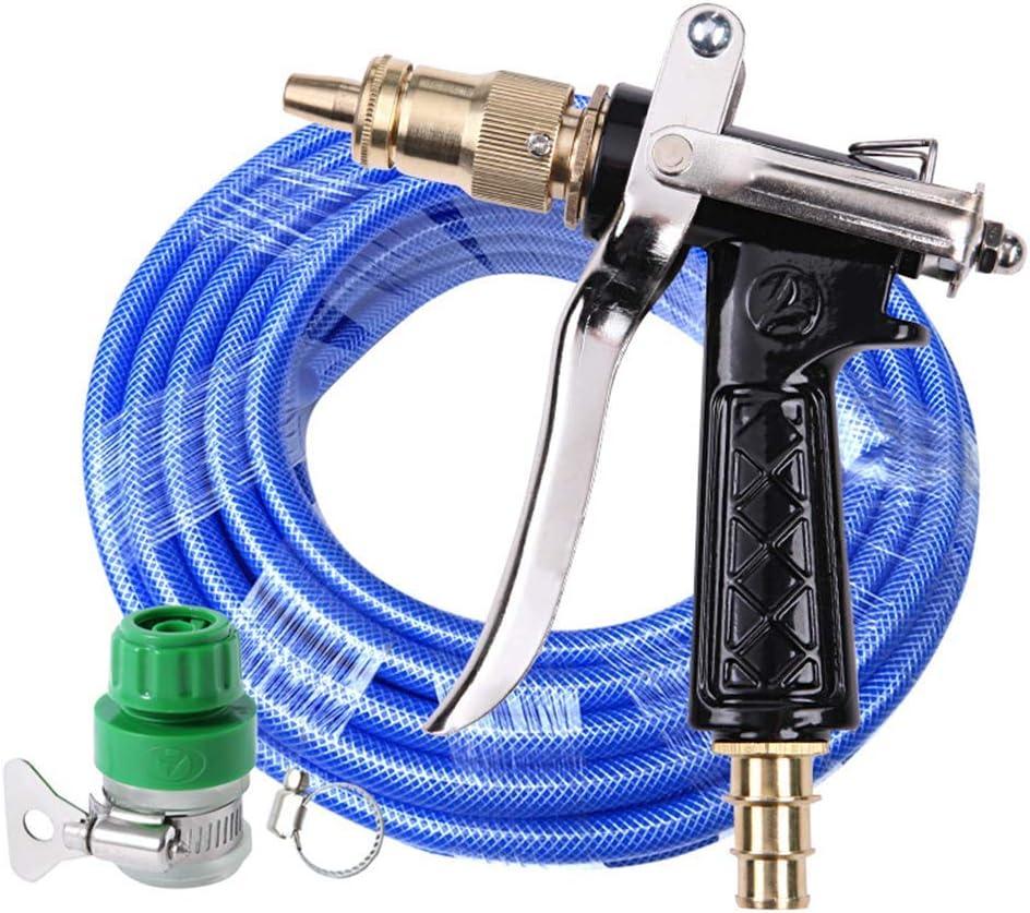 Suchinm Pistola rociadora de riego huerto 1 Pulgada DN25 Pistola de rociadores Ajustable de 360 Grados Pistola de riego de riego Rociador de jard/ín Giratorio para Granja